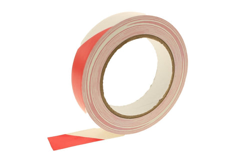 "1"" Red White Insulated Adhesive PVC Striping Vinyl Electrical Tape 36 yard"