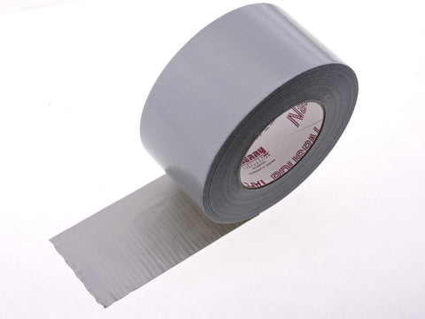 "NASHUA 2280 9 mil 3"" Gray Silver Cloth Duct Tape Water UV Tear Resistant 60y USA"