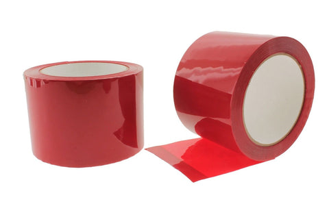 "2x 4"" Red House wrap Sheathing Tape Building Contractor Sealing Seaming to Tyvek"
