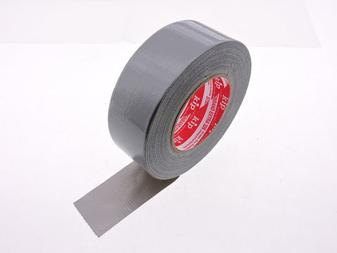"2x 2"" STICKY Gray Silver Cloth PE Duct Tape Repair Water UV Tear Resistant 55yd"