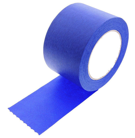 "3"" inch Blue Painters Tape Masking Trim 21 Day Clean Release USA MADE 60yd"