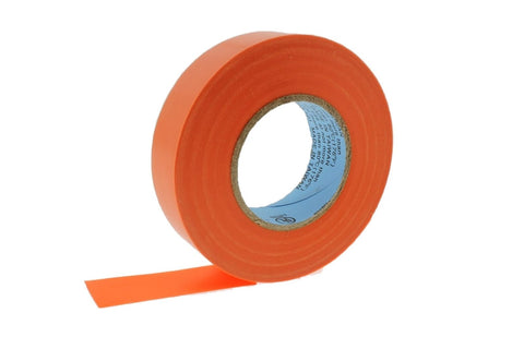 "10pk 3/4"" .75 ORANGE Heavy Electrical Tape Wiring Labeling PVC Vinyl Contractor"