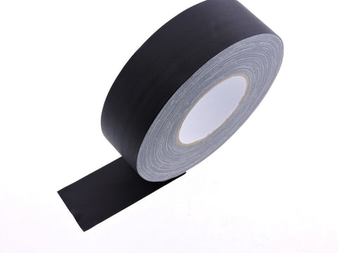 "2"" Black Gaffers Tape Floor Stage Show Audio Video Gaff Cord Hold Down 60yd"