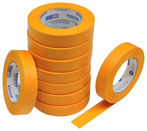 "10x IPG 1"" Orange Clean Release Fine Line Razor Precision Painters Masking Tape"