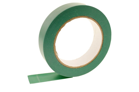 "1"" Dark GREEN Removable Adhesive Striping Vinyl Electrical Marking Floor Tape"