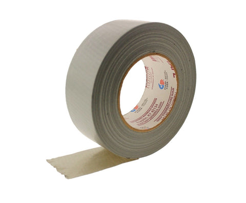 "2"" Nashua 2280 Gray Silver Industrial Heavy Duty Pro Grade Cloth Duct Tape 60y"