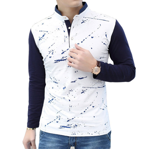 Polo Shirt  Long-Sleeves 2 colors