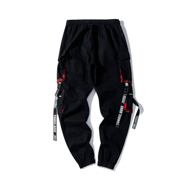 Black Casual Pants Men Streetwear Joggers Fashion Sweatpants