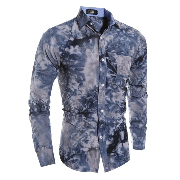 Mens Shirt Long Sleeve 2 colors