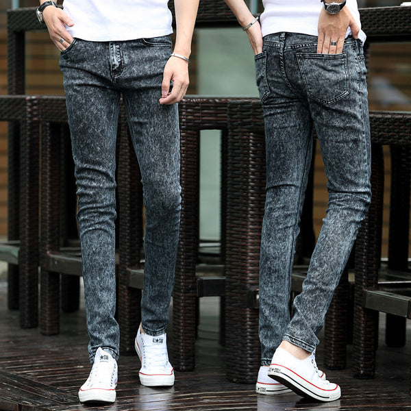 Men's black skinny jeans  2 colors