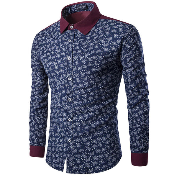 Floral Shirts for Men 2 colors