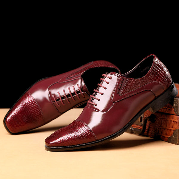 Formal Leather Men's Shoes Autumn & Winter Fashion Design