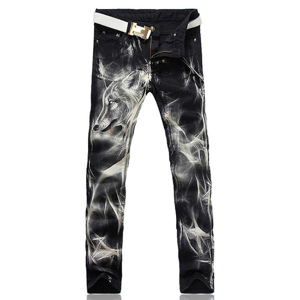 Mens fashion   stretch denim jeans
