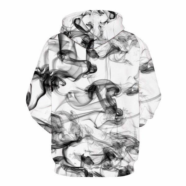 Men's / women's sweatshirts with smoke