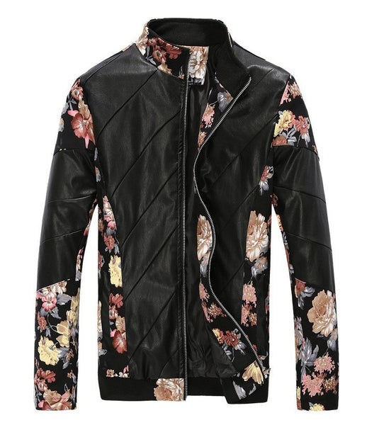 Jacket European Flower Design 2 colors