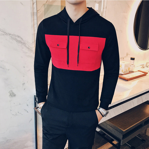 Mens hooded sweatshirts 2 colors