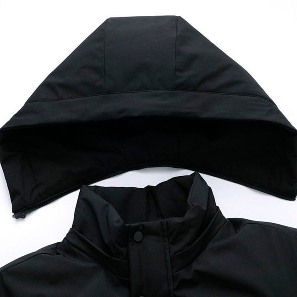 High Quality Casual Quilted  Hooded Parka Coat Winter Long Warm Windbreaker - 2 colors