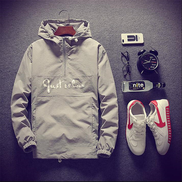 Men's hooded jacket 4 соlors