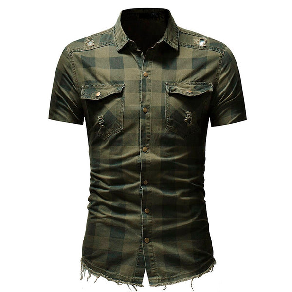 Men's short sleeve shirt 3 colors