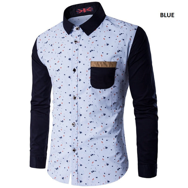 Casual Shirt Mens 3 colors