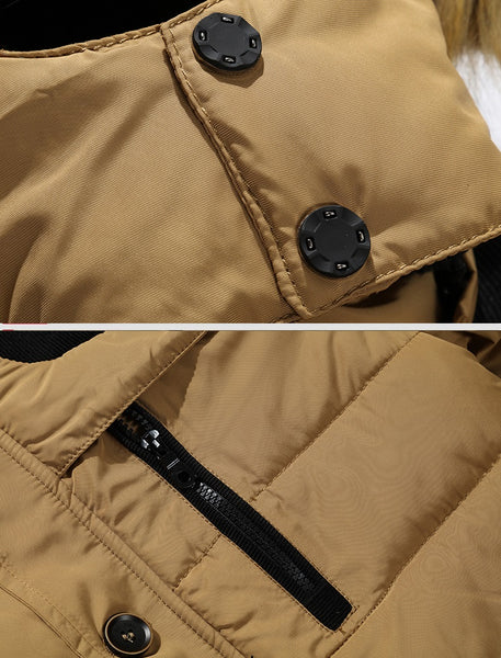 Mens winter hooded jacket 4 colors