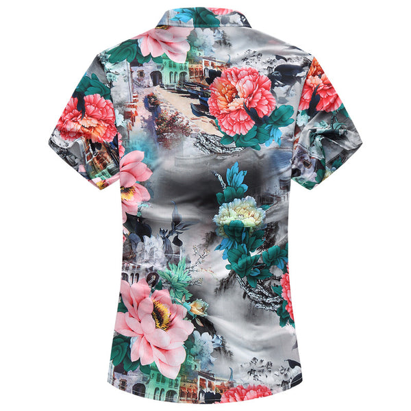 Mens Floral Shirt 2 colors