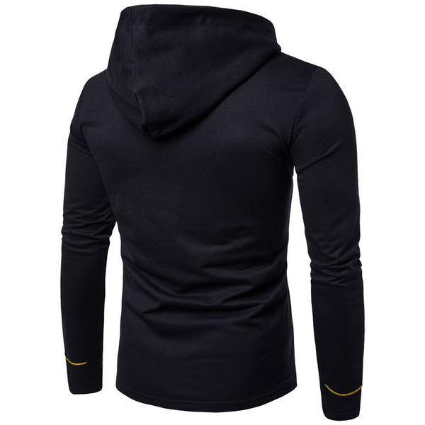 Male slim cardigan with hood 4 colors