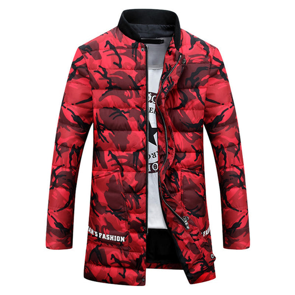 Mens Camouflage Jackets Autumn & Winter 3 colors