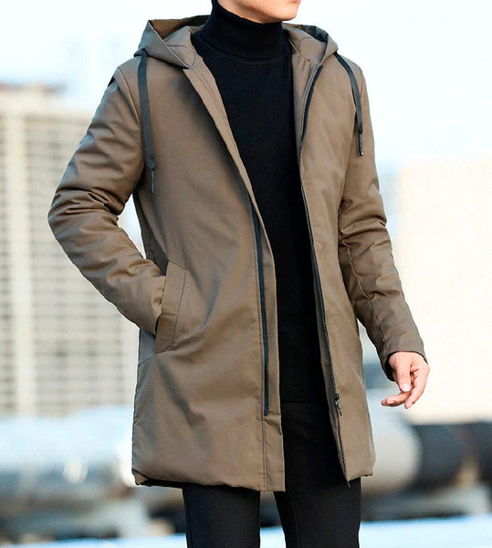 Autumn Winter Men's Trench Coat Two Colors