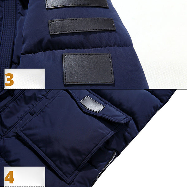 Long Men's Jacket 4 colors