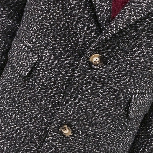 Slim Wool Coat Mens British style Autumn/Winter 4 colors