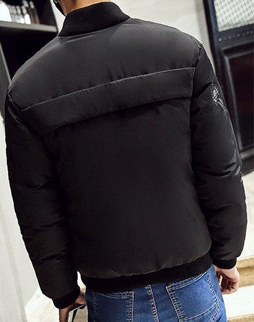 Men's fashion warm jacket 3 colors