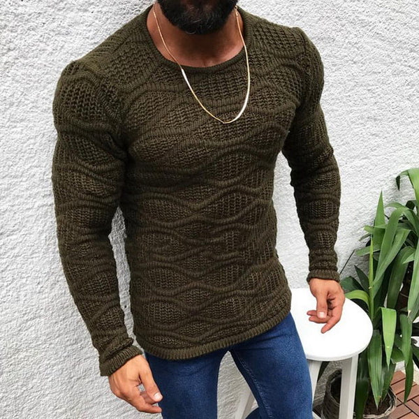 Men's Knitted Sweater 3 colors