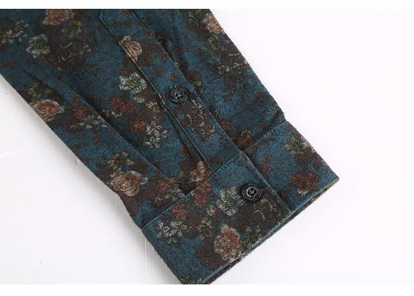Floral Shirt LUXURY 4 colors