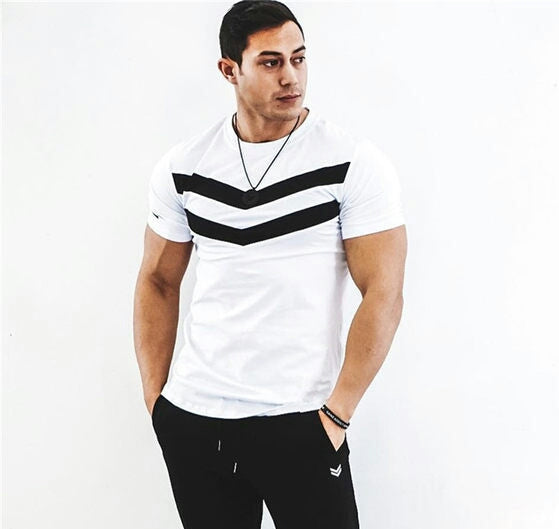 Men's sports t-shirt 2 colors