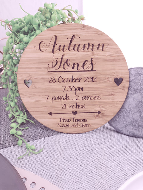 Birth Announcement - Design 3