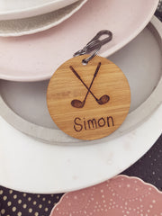 Golf Club Bag Tag