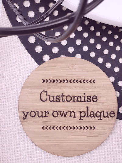 Customise your own Creation