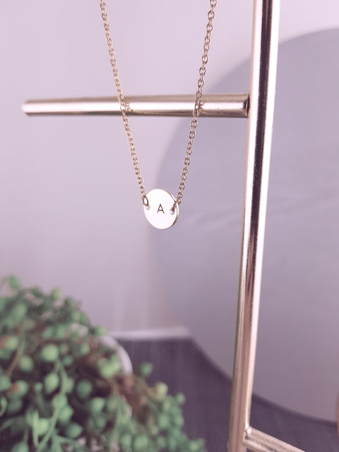 ANNIE - Small Pendant Necklace