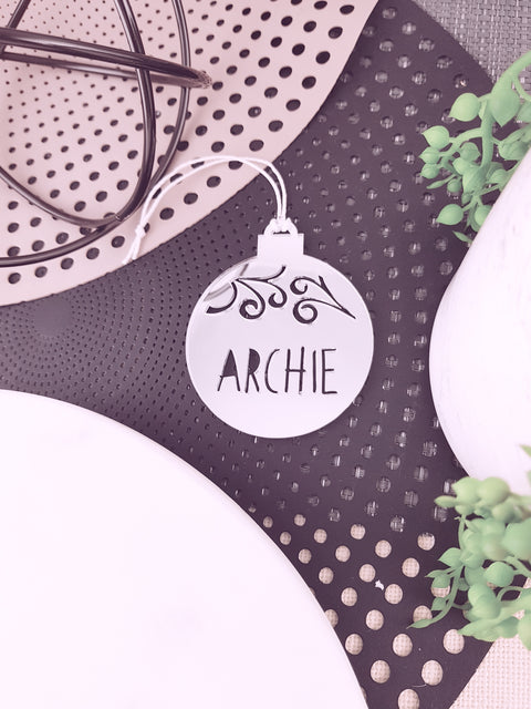 Bauble Decoration - Personalised