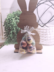 EASTER BUNNY DECORATION - PERSONALISED