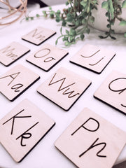 ALPHABET + SYMBOLS - Educational Tiles
