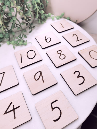 NUMBERS 0-10 - Educational Tiles