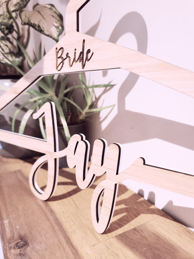 Coat Hanger - Personalised