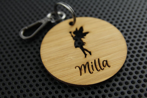 Fairy Bag Tag