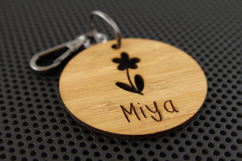 Flower Bag Tag
