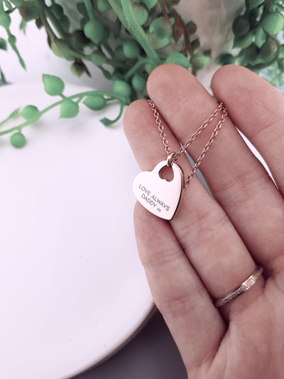 EVIE - Heart Pendant Necklace (CHILD)