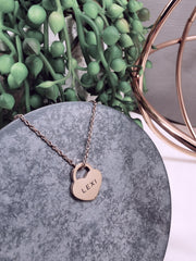 LEXI - Locket Heart Pendant Necklace