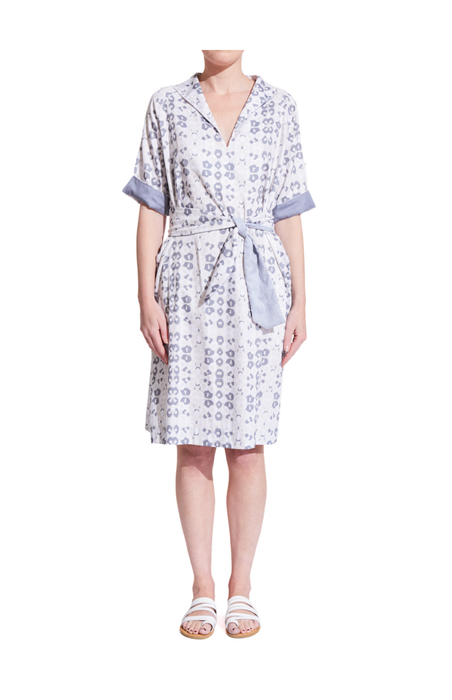 Tunic Dress with coordinated face mask