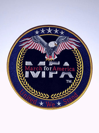 MFA - USA Made 8 1/2 Embroidered Patch